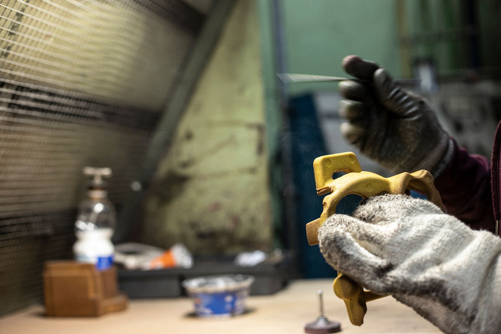 Finitura - Produzione Shell Moulding